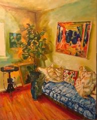 Apartment (2017) / 16 in x 20 in / 40.6 cm x 50.8 cm